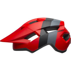 Bell Spark Casque, downdraft matte crimson/black